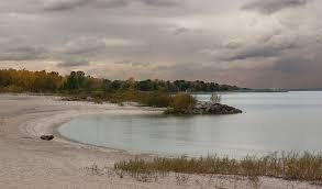 Maumee Bay State Park on Lake Erie